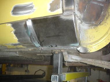 Daimler Avon Restoration Car Welding Hampshire Classic