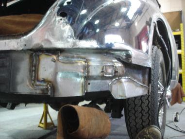 Daimler V8 250 Restoration Car Welding Hampshire