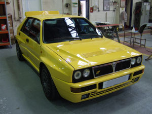 Lancia Restoration, Car Welding,  Classic Car Restoration at Paul Baker Custom Metalwork, Hampshire UK