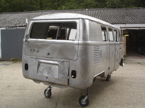 VW Type 2 Van Restoration - Car Welding Hampshire, Classic Car