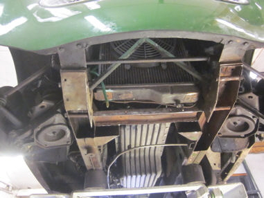 Healey 3000 Chassis Restoration